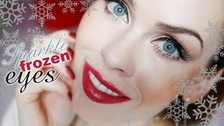 ❄ Vánoční edice: Sparkle frozen eyes ❄ | Klasické oči s kapkou mrazivého třpytu