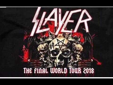 Slayer - Hell Awaits Live in Dortmund Westfalenhalle 14-11-18