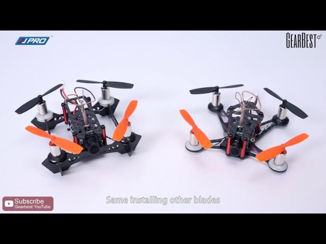 JJRC JJPRO-T1 95mm/T2 85mm FPV Racing Drone - Gearbest.com
