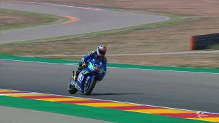 Team Suzuki Ecstar chat about the Gran Premio Movistar de Aragon