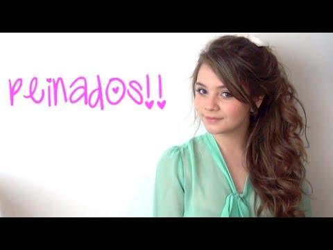 peinados sencillos faciles y lindos maqui015 youtube - Peinados Sencillos