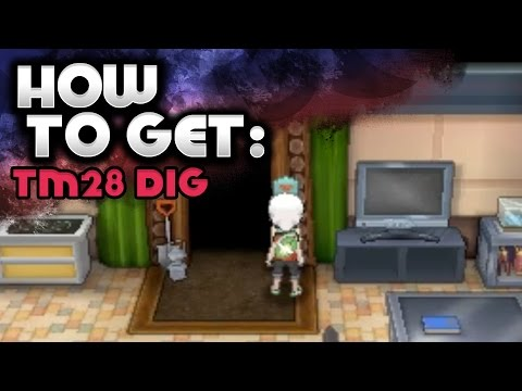 How to Get Dig - Pokemon Omega Ruby and Alpha Sapphire