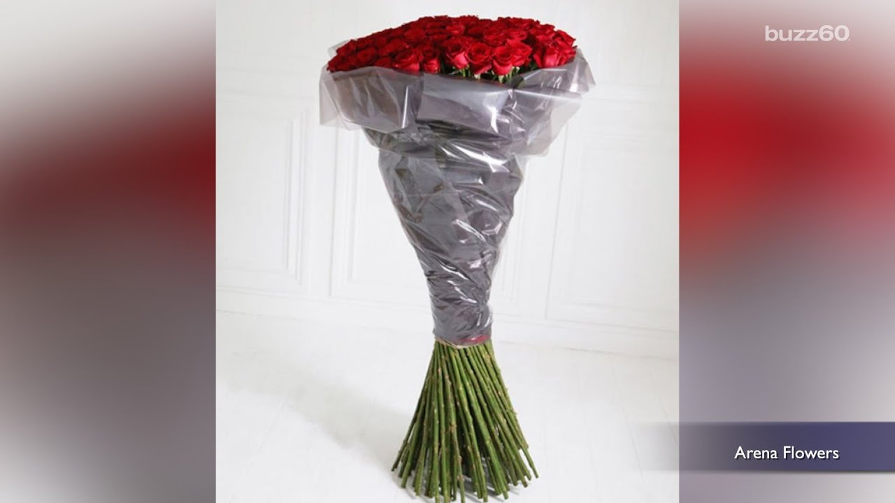 Check out the world\'s most expensive Valentine\'s Day bouquet - YouTube