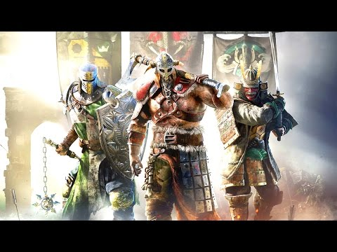 KICKING THE ARSES AND TAKING THE NAMES! | For Honor Beta #1 (Live Streamed)
