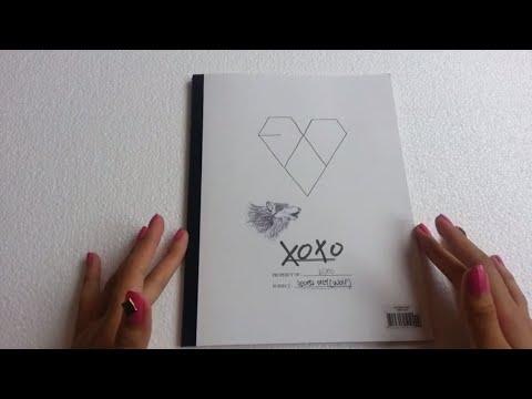 UNBOXING: EXO - XOXO ALBUM kiss ver. // MLSS