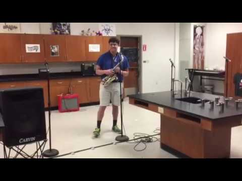 Physics Karaoke Competition Performance. RIP ME