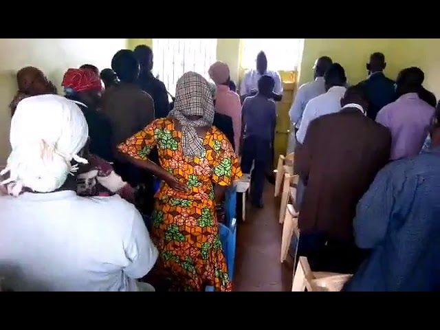 Worshippping Jesus from the Heart in MoisBridge Kenya WFF GMFC