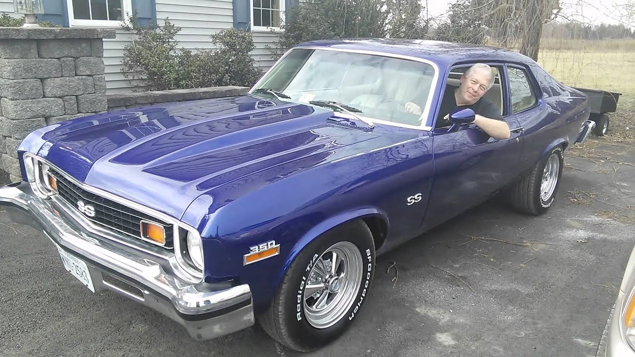 1974 Chevy Nova Ss Youtube