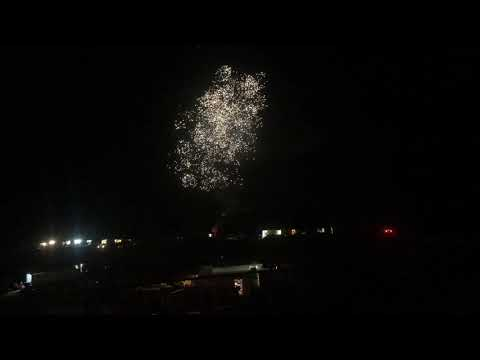 Fireworks at Toccoa Speedway