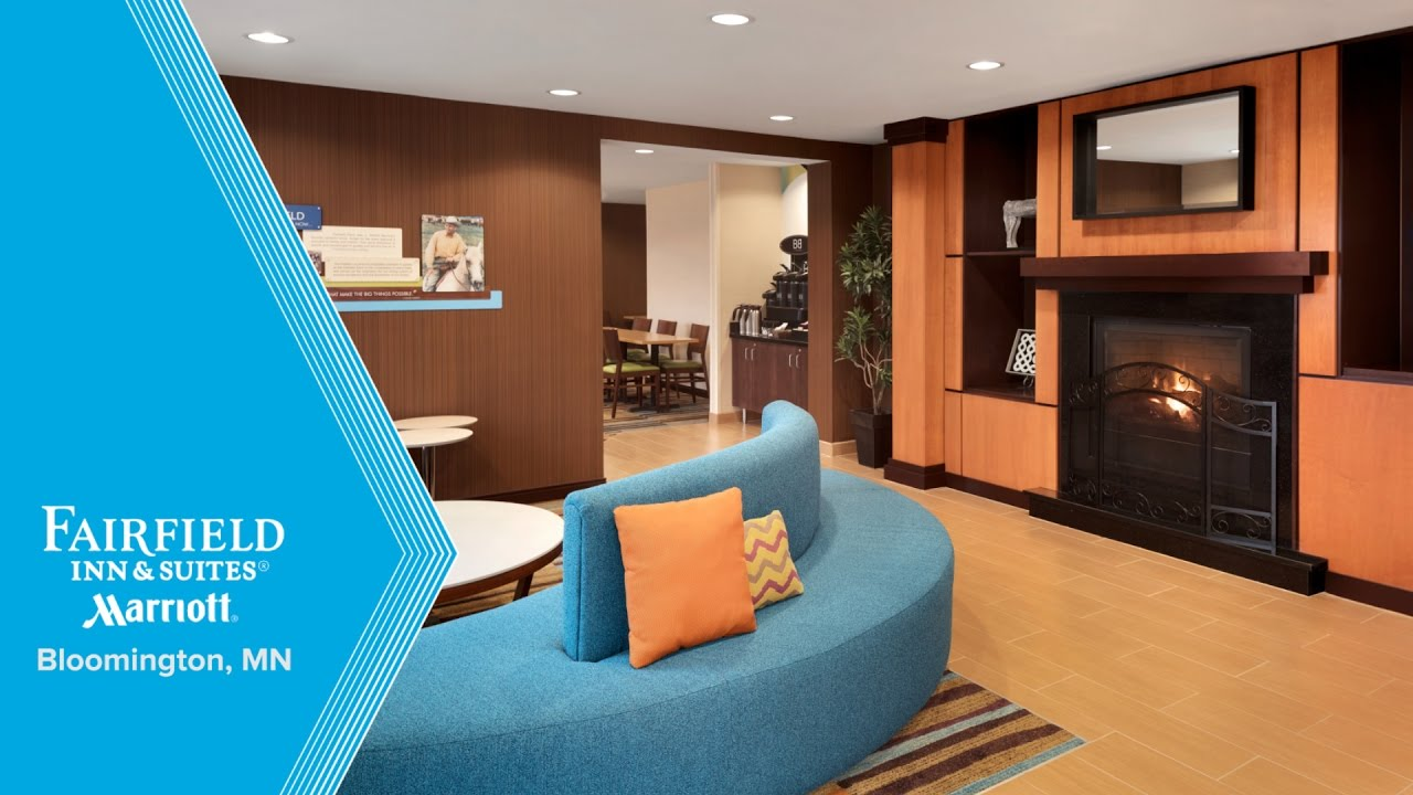 Fairfield inn suites minneapolis bloomington mall of america hotel tour