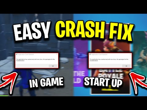 How To Fix Fortnite Crashes In Chapter 2! (Easy Solution For Game Freezing & Not Starting/Loading)