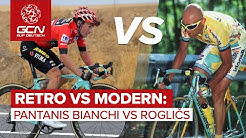 Retro vs modern: Pantanis Bianchi 1998 vs Rogličs Bianchi 2019