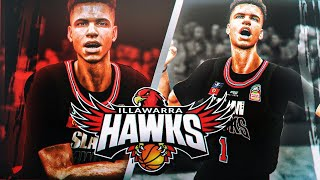 LaMelo Ball MyCareer #2 | Illawarra Hawks NBL League Debut | HalfCourt Shot Shocked The Fans...