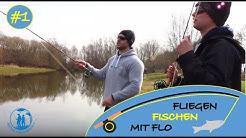 Tutorial: Fliegenfischen lernen | Mit Flo und Mirco in Platschow