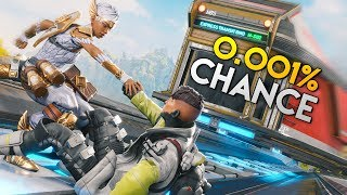 *0.001%* THE UNLUCKY TRAIN VISIT!! - Best Apex Legends Funny Moments and Gameplay Ep 263