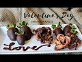 VALENTINE'S DAY DATE NIGHT TREATS (EASY, ROMANTIC, AND HEALTHY)
