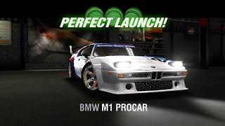 racing rivals bmw m1 procar perfect launch tutorial