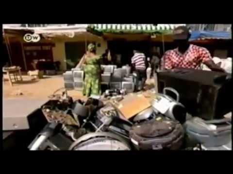 Basura electrónica para los empobrecidos