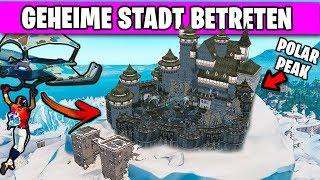 Die GEHEIME Burg im Eis betreten! 🏔️❄️ | Fortnite Season 7 Deutsch