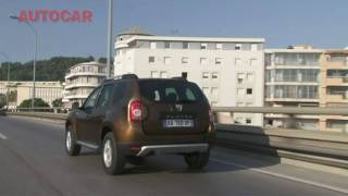 Dacia Duster test drive by autocar.co.uk