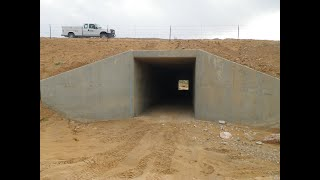 Survey Requirements for Box Culverts