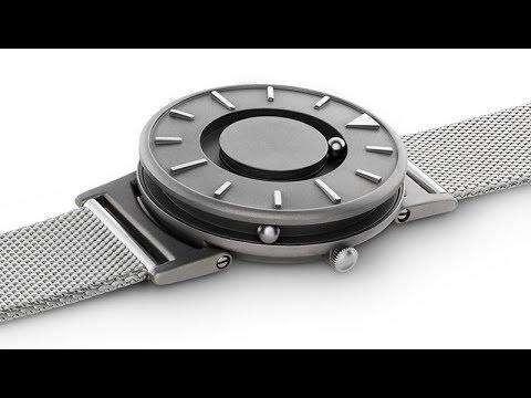 Наручные часы для слепых и слабовидящих с системой Брайля - YouTube