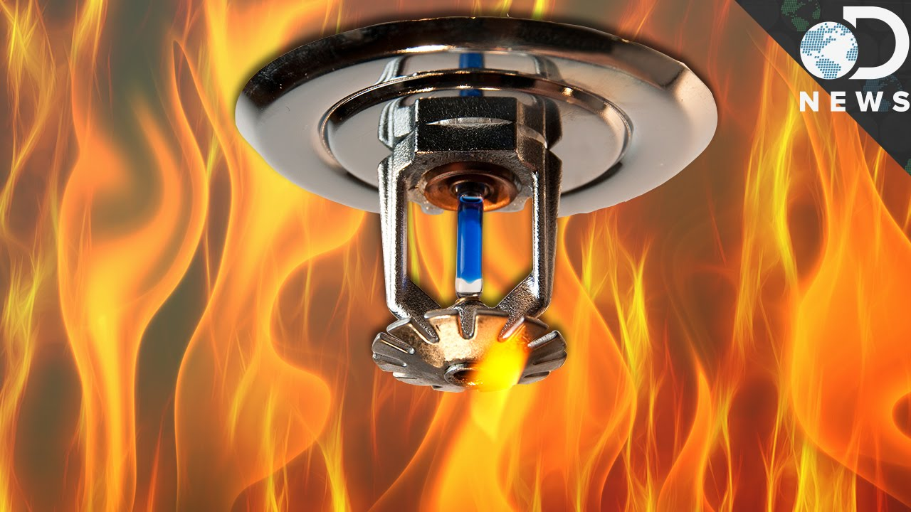 How Do Fire Sprinklers Know Theres A Fire  YouTube