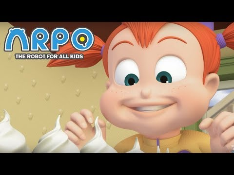 ARPO The Robot For All Kids - Eat All the Cake | Compilation | Videos For Kids Videos For Kids