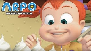 ARPO The Robot For All Kids - Eat All the Cake | | 어린이를위한 만화