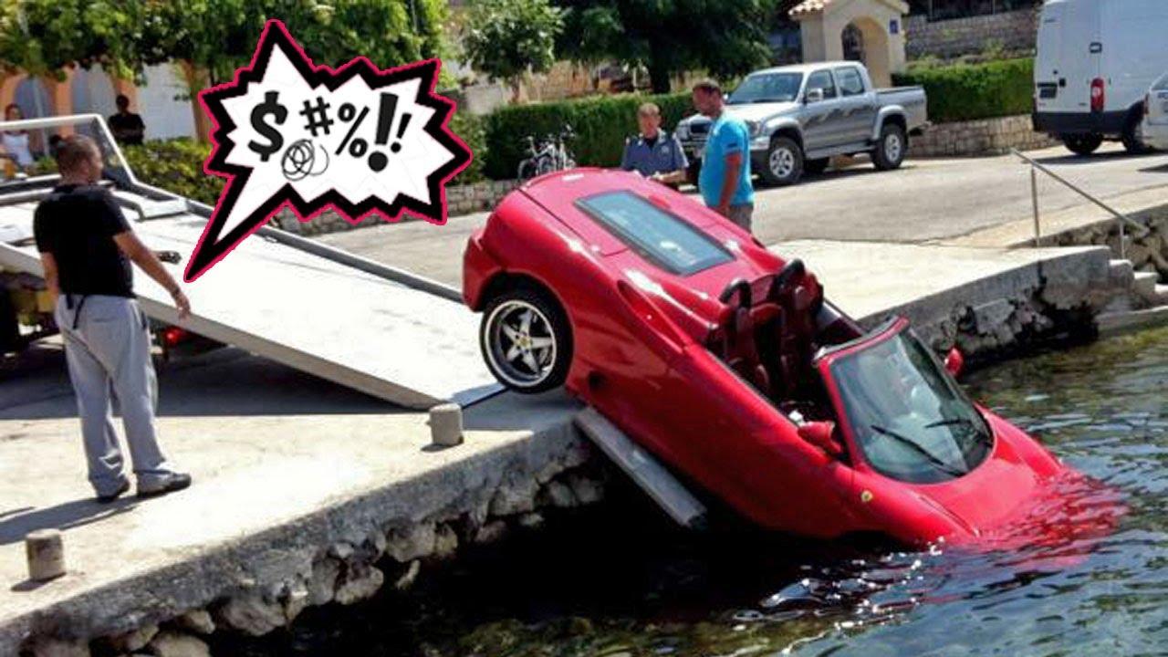 حوادث السيارات الرياضية 2020 الجزء الأول