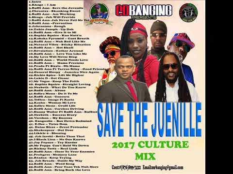 CD BANGING SAVE THE JUVINILE CULTURE MIX JULY 2017 CHRONIXX,VEGAS