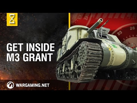 Inside the Chieftain's Hatch: M3 Grant. Part 2