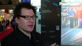 ISE2012: Panasonic PT-DZ21K Series of 3-chip DLP Projectors