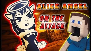 Bendy and the Ink Machine REAL LIFE JUMPSCARE Chapter 4 Alice Angel BATIM
