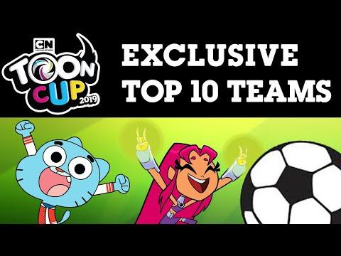 Toon Cup 2019 | Exclusive Top 10 Teams | Cartoon Network UK