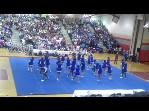 Gaithersburg High School Cheerleading Competition 2013