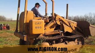 BIG IRON ONLINE AUCTION 12-21-2016: Caterpillar 955 Track Loader