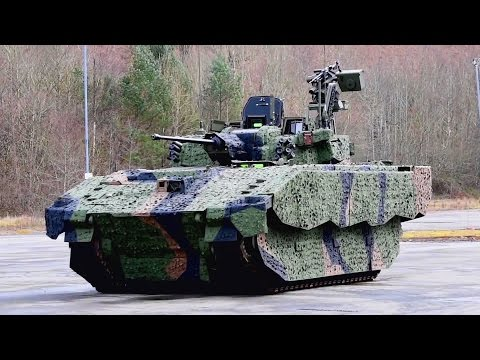 British Ministry Of Defence - Ajax Infantry Fighting Vehicle Presentation [1080p]