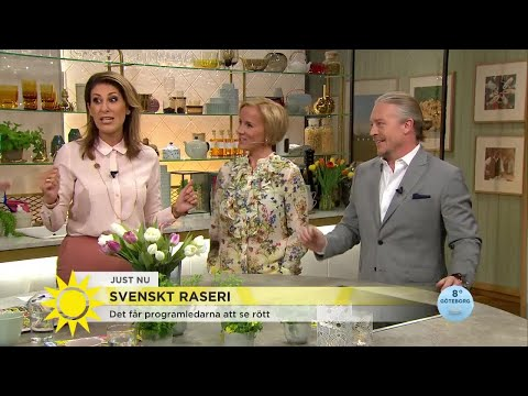 Svenskt raseri – det gör programledarna rasande - Nyhetsmorgon (TV4)