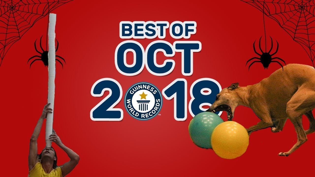 The Best Guinness World Records of October 2018