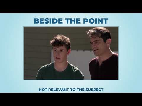 Beside the point (long version) - Learn English with phrases from TV series - AsEasyAsPIE