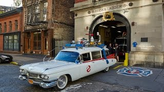 Who You Gonna Call? Superfan Creates Replica Ghostbusters Car
