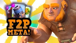 What's Winning NOW? :: Clash Royale Meta Update w/ Woody! (F2P Edition)