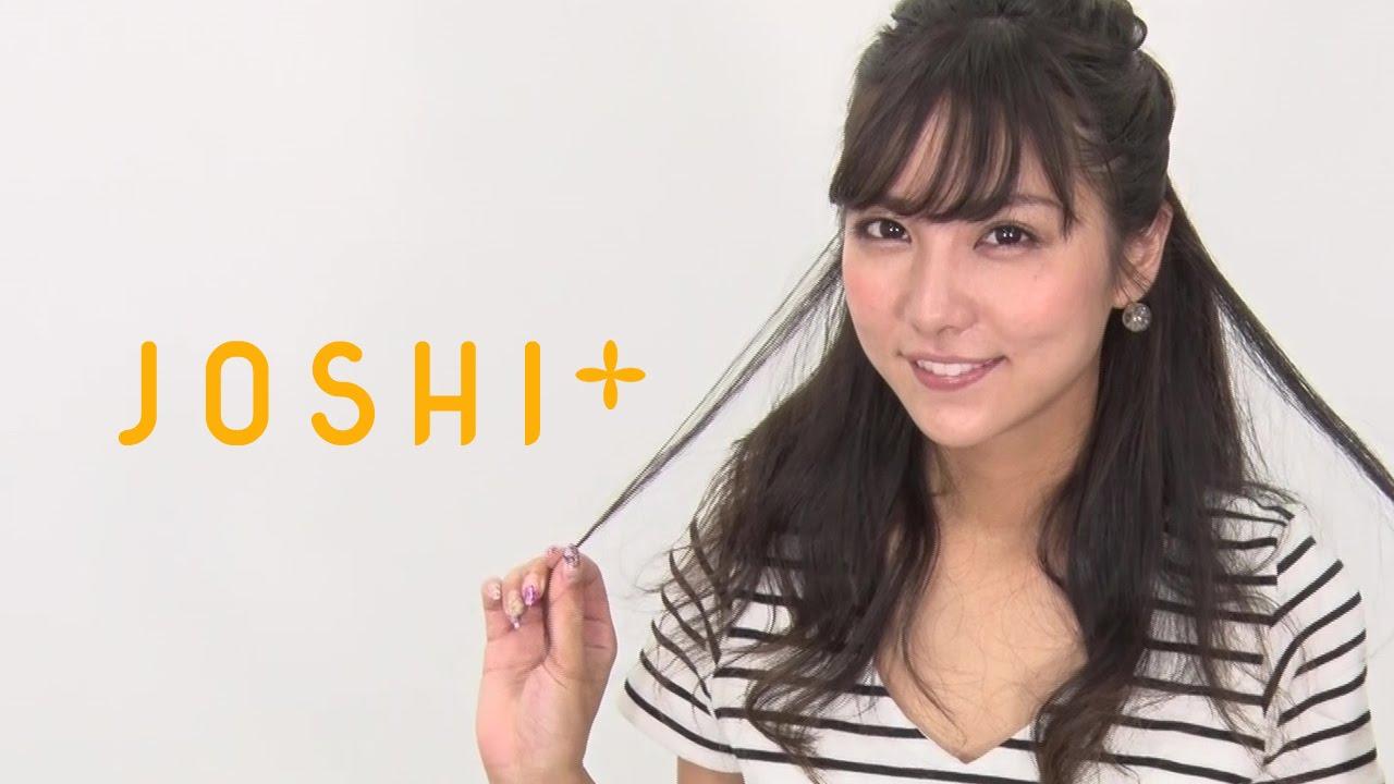 石川恋 くるりんぱで作る、ゆるふわハーフアップ!石川恋のCute up lesson ヘアアレンジ
