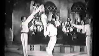 Repeat youtube video Adagio dance: Eugene Pini & the Bega Four in Calling All Stars (film) 1937