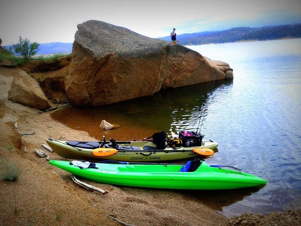 Rampart reservoir colorado camping kayaking fishing fun for Camping and fishing in colorado