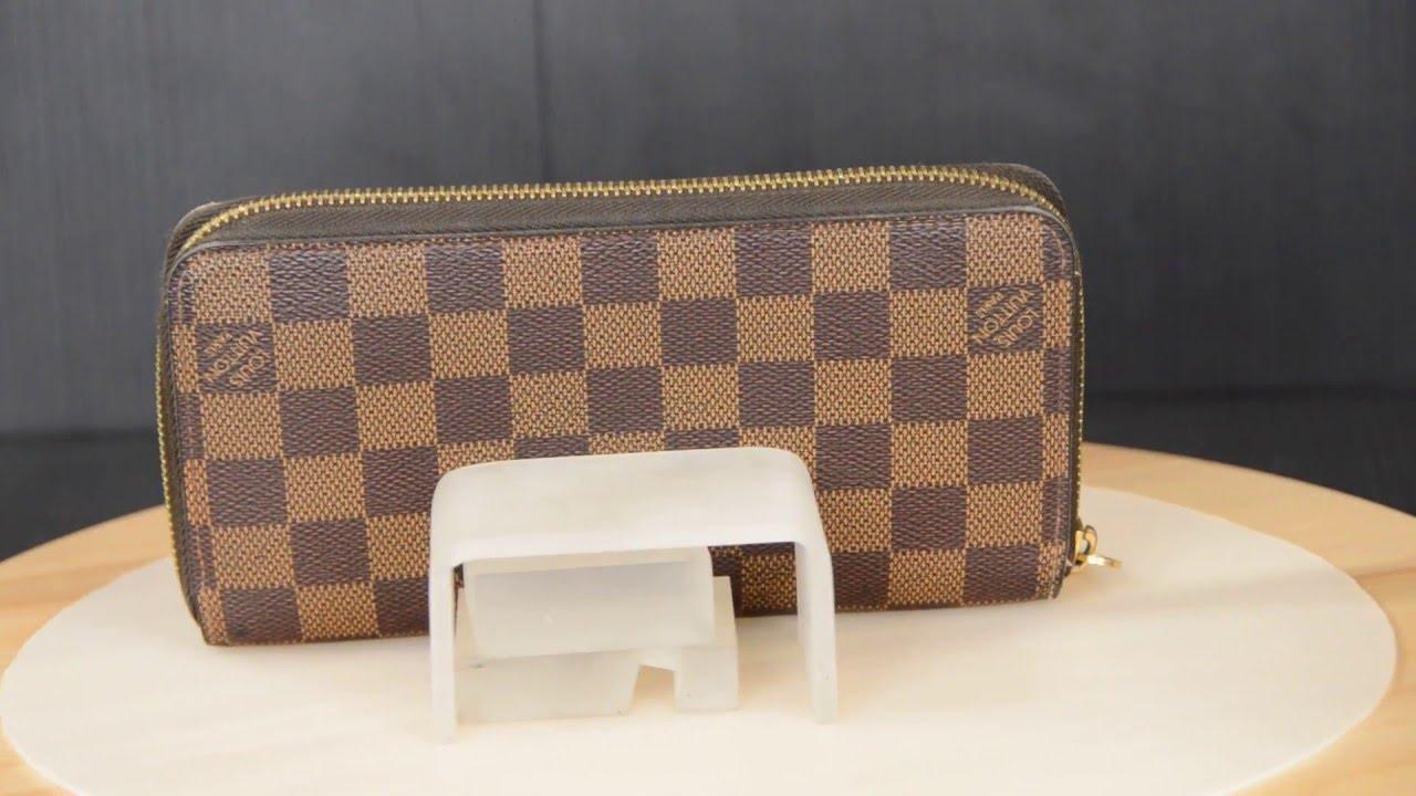 832f0e77e730 ilovekawaii C02035 - Louis Vuitton Damier Ebene Zippy Wallet Round Zip  Wallet N60015