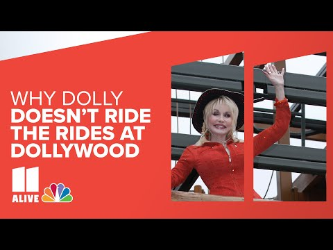 Dolly Parton shares why she doesn't ride the rides at Dollywood