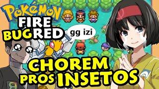 ERIKA E GIOVANNI CHORAM PROS MEUS INSETOS  - Pokémon FireRed Monotype Insetos (Bug) #5