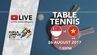 Download Video Table Tennis 🏓 Men's Team Final Singapore 🇸🇬 vs 🇻🇳 Vietnam | 29th SEA Games 2017 MP3 3GP MP4